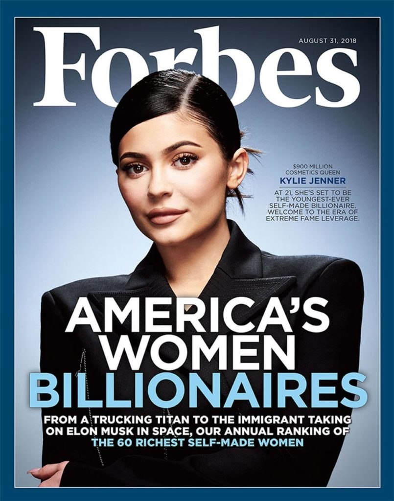 21 - years old American girl, the youngest billionaire in the world